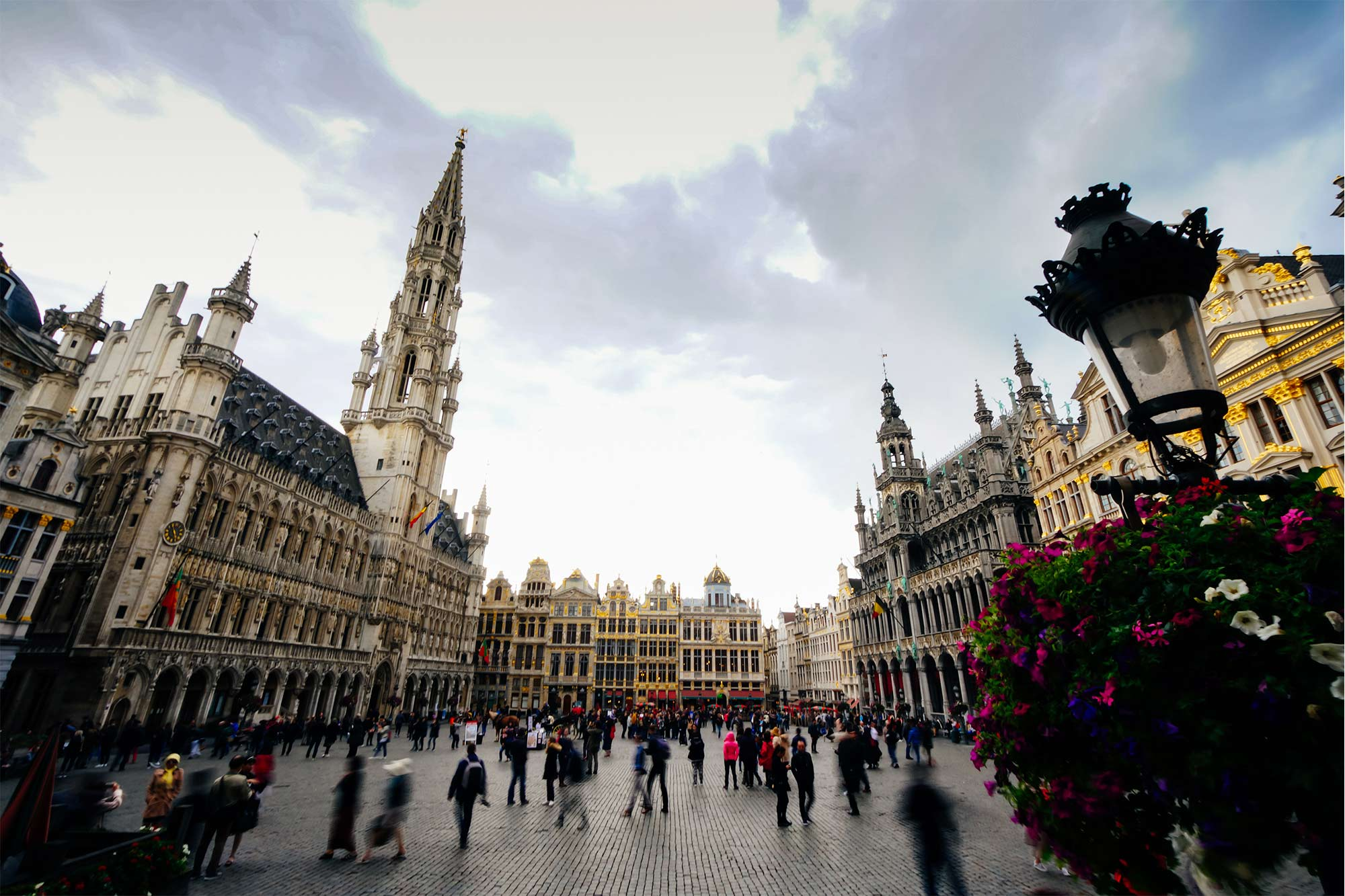 Grand Place, the central square of Brussels