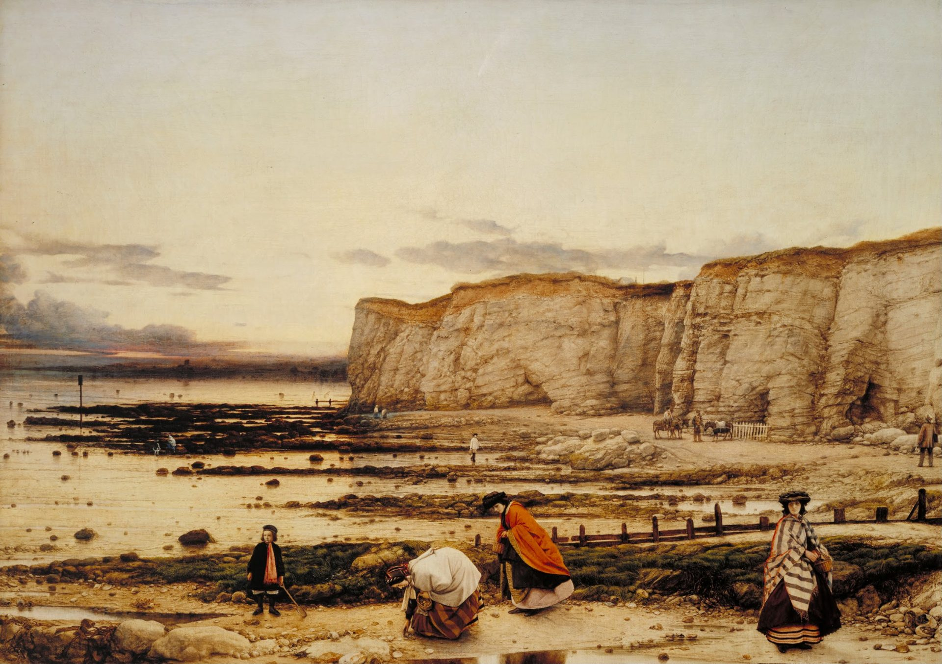 Image of William Dyce, Pegwell_Bay, Kent: a Recollection of October 5th 1858
