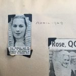 Clipping of Rose Heilbron making KC